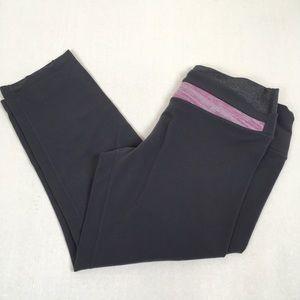lululemon Gray Capri Cropped Knit Pants